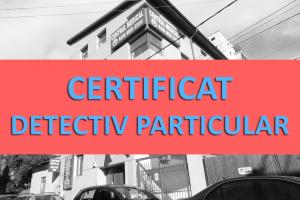 certificat medical detectiv particular