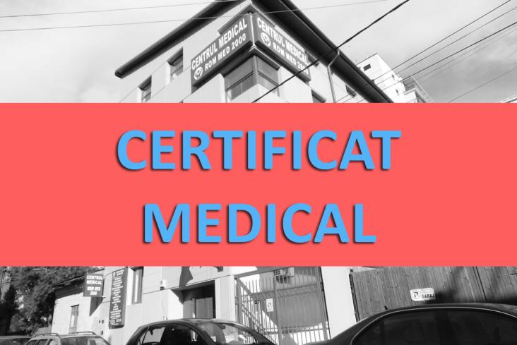 Certificat medical (domiciliul stabil, cetatenie, ORI)
