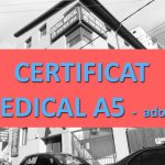 CERTIFICAT MEDICAL A5 Adoptie (psihiatrie, HIV, VDRL, MD